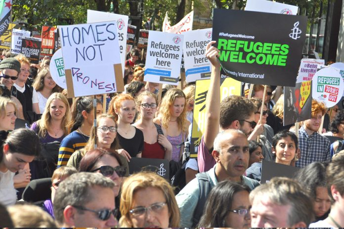 There is massive support in Britain for the Calais refugees and their right to make a home in Britain if they wish
