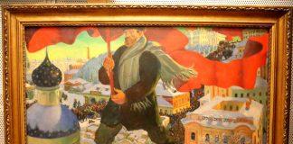 Boris Kustodiev 'The Bolshevik' © www.foxtrot films.com