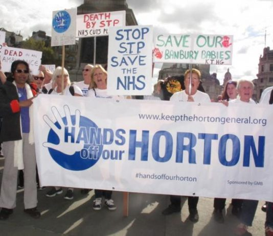 In this period of vicious attacks on the NHS every hospital is fighting for survival