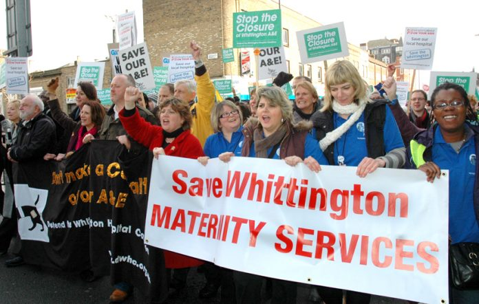 March to defend the Whittington Hospital