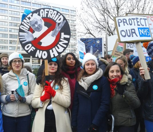 Junior doctors took many strike actions against an imposed contract, warning that Hunt was out to smash the NHS