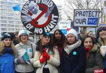 Junior doctors insisting they are taking action to defend the NHS against Hunt's attacks