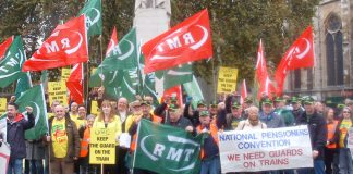 The RMT urged voters to vote 'Leave' in the EU referendum. Labour's Manifesto refuses to break with the EU