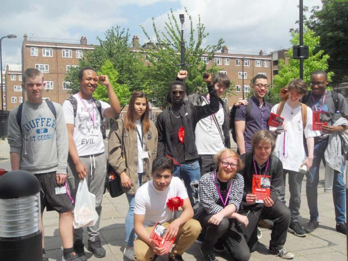 Yesterday was a brilliant campaigning day for Jonty Leff and his team, shown above at Hackney Community College