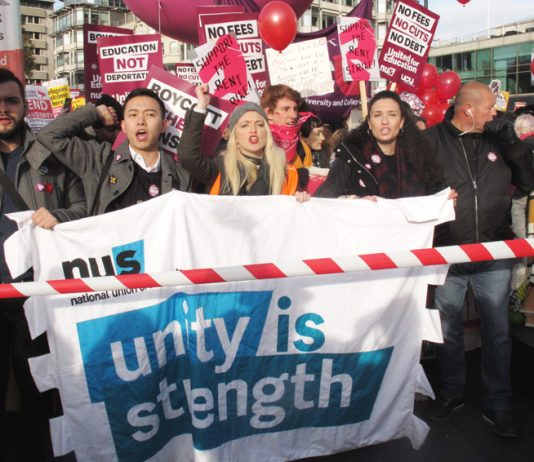 Students on the march – looking to Labour to write off all student debt