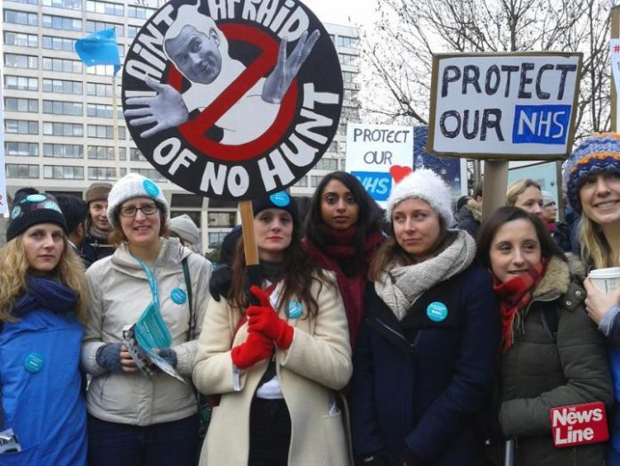 Junior doctors refused to be intimidated by Hunt's threats during their long dispute over an imposed contract