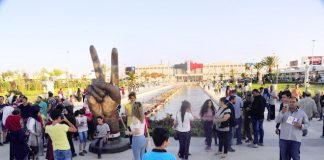 Huge crowds attended the first Damascus International Fair since 2011