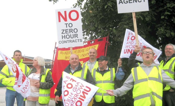 Hovis workers in Wigan won their battle against zero hours after strike action