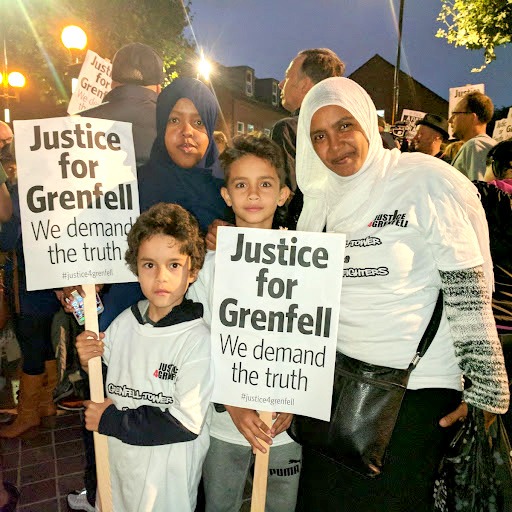 Over 1,000 residents of North Kensington marched on October 14th to remember the Grenfell Tower fire