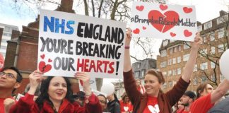 After massive protests NHS England has decided that child heart surgery will continue at the Royal Brompton and Harefield NHS Trust