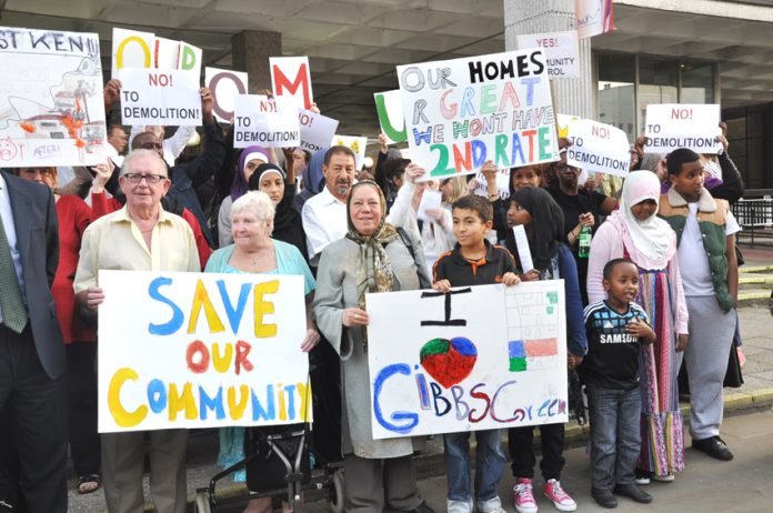 Families from the West Kensington and Gibbs Green council estates in west London won a victory last month in their campaign to stop the demolition of their homes