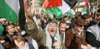 Palestinians all over the occupied territories and Gaza were rising up to defend their capital Jerusalem – see pages 6&7