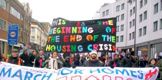 With 100,000 children in temporary accommodation, the right to a home is the big issue of the day