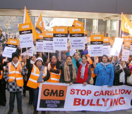 Great Western Hospital staff on strike in Swindon against Carillion 'bullying' – Carillion has gone into liquidation