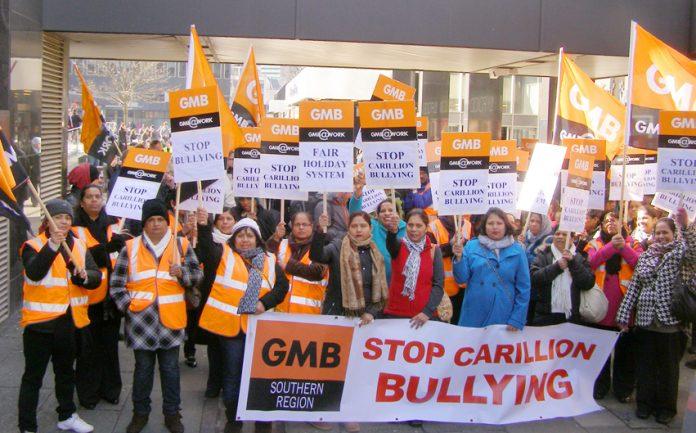 Great Western Hospital staff on strike in Swindon against Carillion 'bullying' – Carillion has gone into liquidation