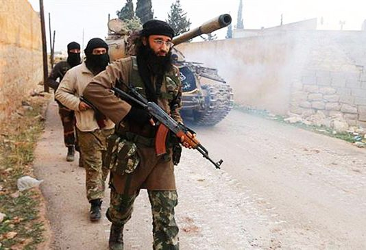 Terrorists in Eastern Ghouta – they have been beaten by the Syrian army and its allies who have retaken the region