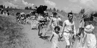 Nakba 1948 – Palestinians are driven from their homes by armed Zionist gangs