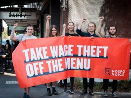 Hospitality workers have formed the Hospo Voice union to fight expoitation at work