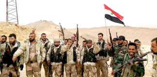 Syrian troops are liberating most of Syria's territory