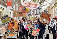 Students on the NUS march demand nationwide action – they demand the end of all fees and for living grants to be restored