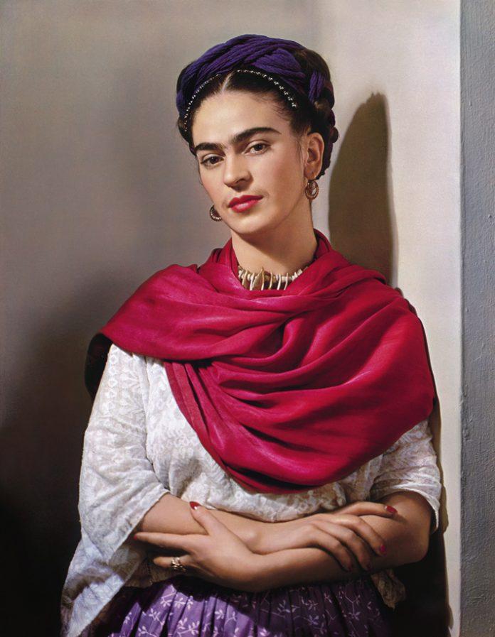 Photograph of Frida Kahlo © Nickolas Muray photo archives
