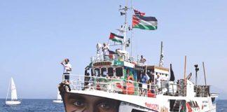 The Al-Awda on its way to Palestine