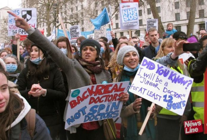 Defiant Junior Doctors are ready to strike again
