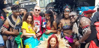 Notting Hill Carnival goers had a great time all day