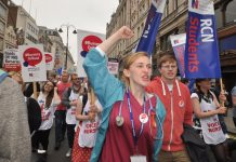 Student nurses demanding the return of bursaries – financial hardships are forcing many student nurses to drop out of their courses