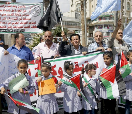DEPRIVING Palestinian refugees of their basic rights is  a recipe for trouble, says PLO official Hanan Ashrawi. Depriving 5.3 million Palestinian refugees of their right to education, health and work by dismantling the international agency that has been t