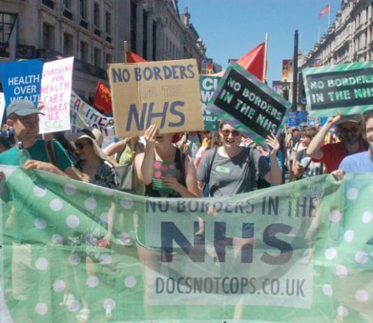 Doctors on the NHS 70th Anniversary march rightly insist they will refuse to check the immigration status of their patients