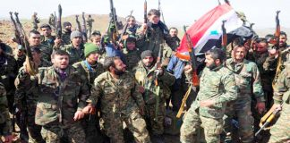 Syrian troops confident of liberating the whole of their country