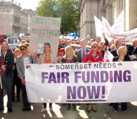 Over 1,000 heads marched on Downing Street yesterday with a clear message for Chancellor Hammond!