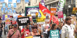Workers marched to Parliament to get the Tories out – now some Labour MPs are considering voting for May's EU policy