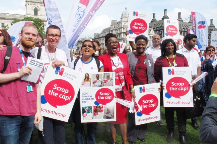 Nurses are very angry over pay! RCN nurses have already sacked their leadership over the issue