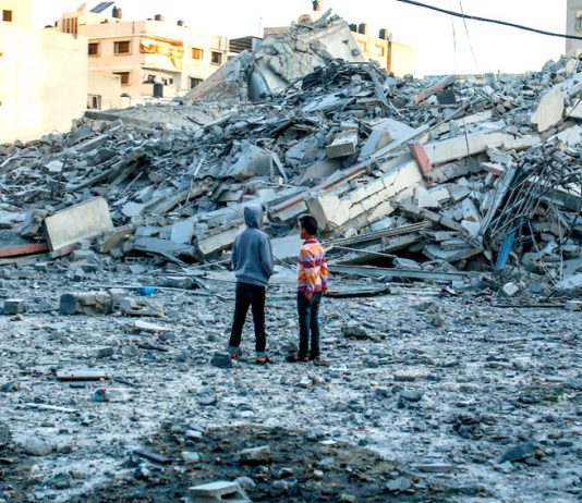 The recent Israeli bombing of Gaza claimed 14 Palestinian lives