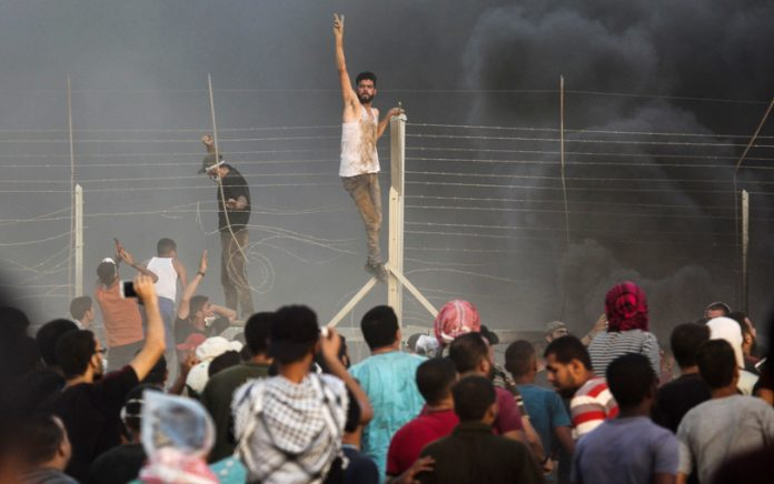Youth on the Gaza border with Israel determined to liberate the whole of Palestine