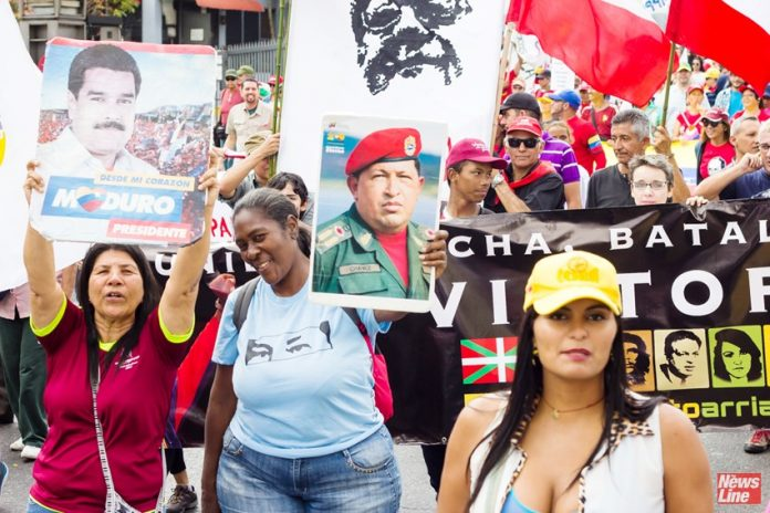 Many thousands of Venezuelans turned out last Wednesday to support President Maduro and the Venezuelan revolution. Credit: Prensa CRBZPRESIDENT  Nicolas Maduro has ordered the closure of Venezuela's embassy and consulates in the US after Washington threw