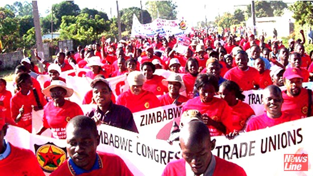 Zimbabwe Congress of Trade Unions (ZCTU) march – teachers begin an indefinite strike today