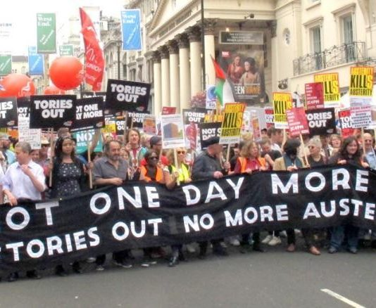 John McDonnell took the lead after the 2017 general election to organise a demonstration to Parliament to bring the Tories down, urging 'Not One Day More '