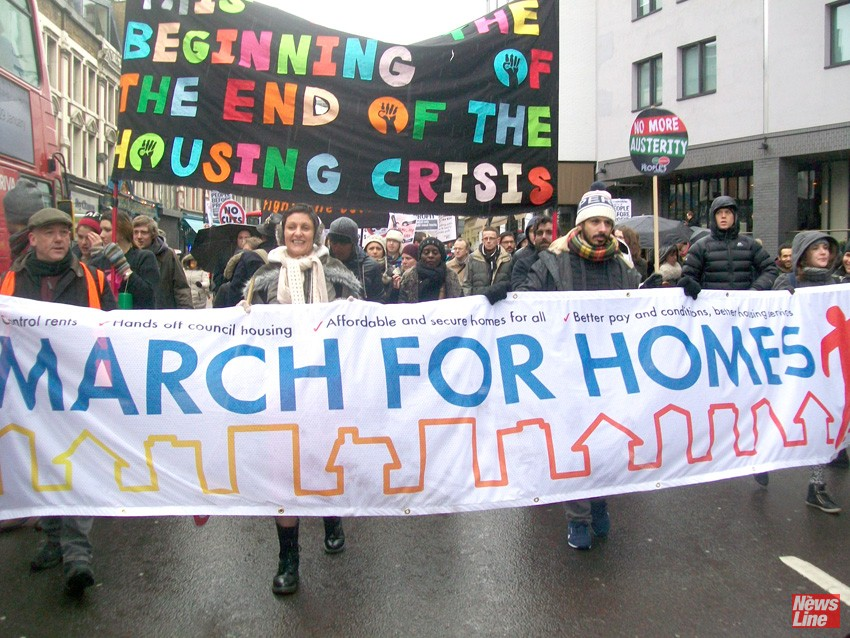 March for homes