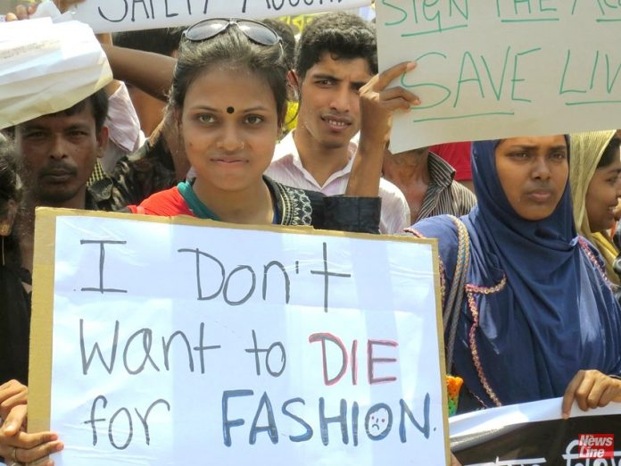 Garment workers in Bangladesh are not prepared to die for fashion