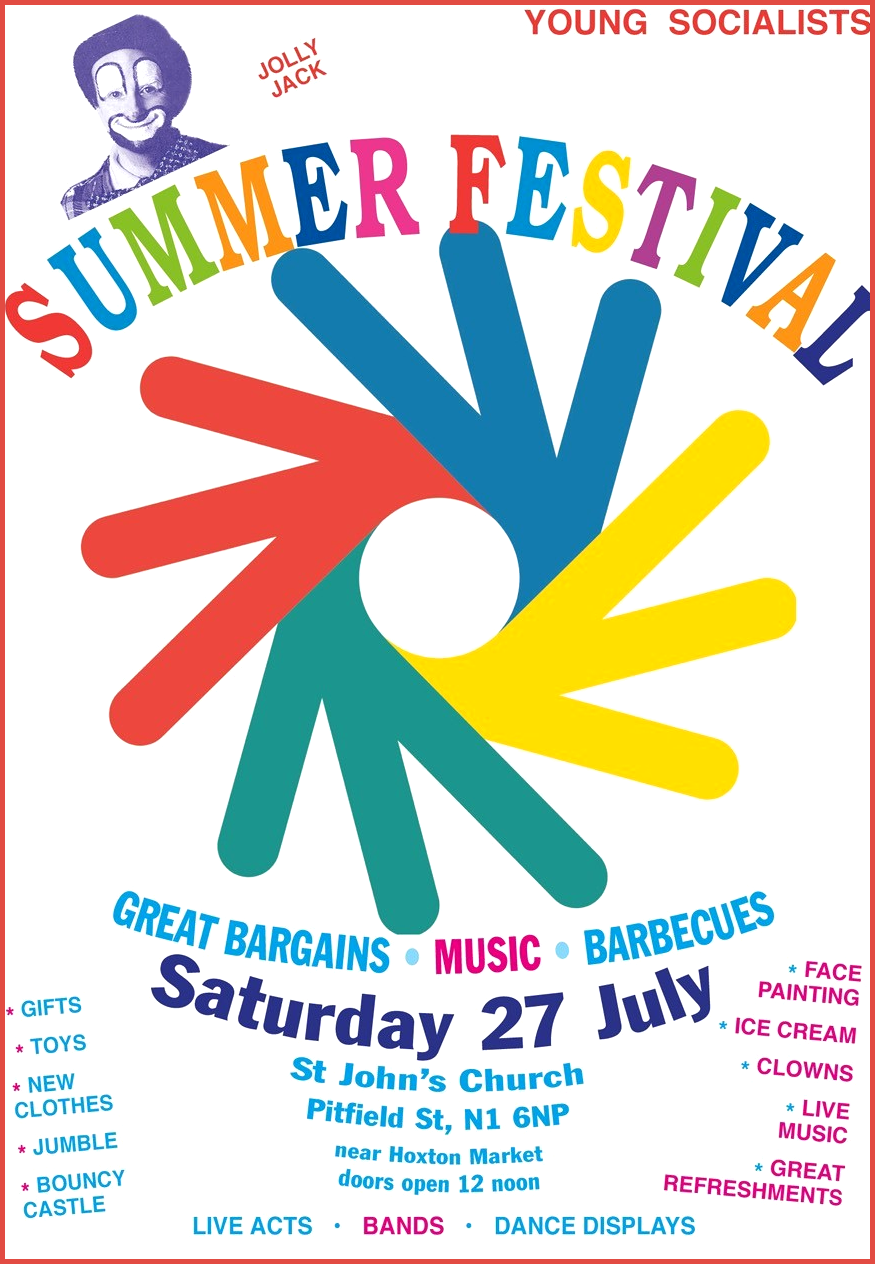 Young Socialists Summer Festival Poster