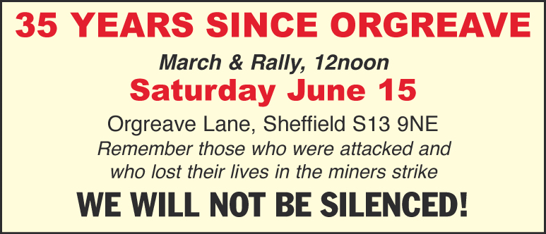 35 Years Since Orgreave