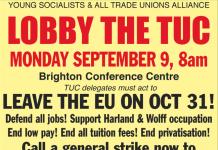Lobby The TUC 2019