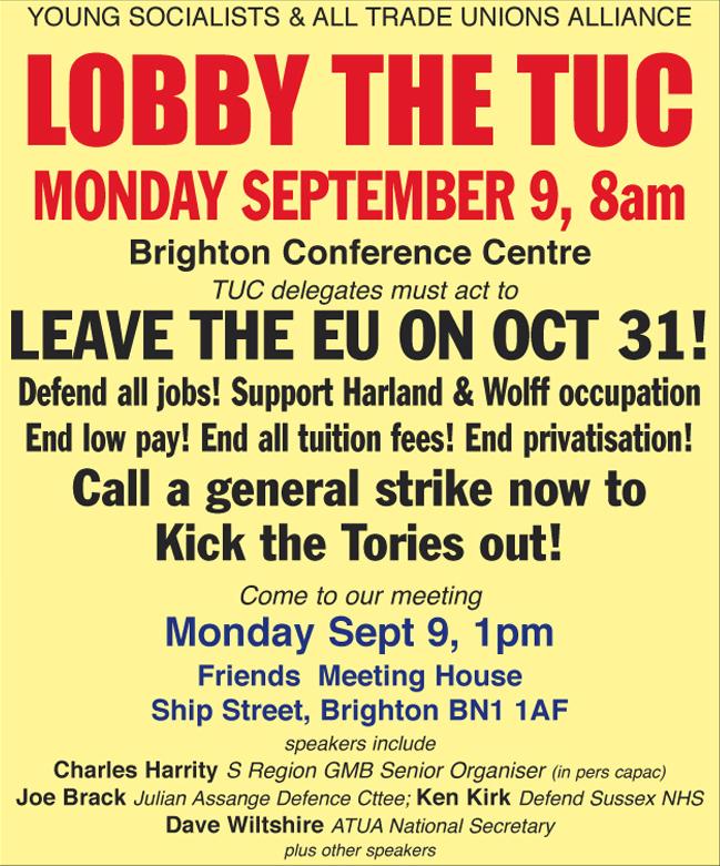 Lobby The TUC Advert