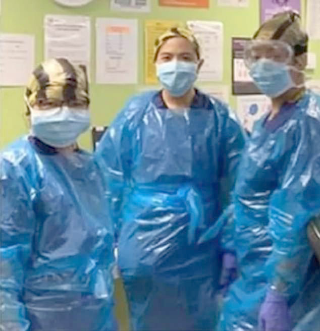 Nurses at Northwick Park Hospital in bin bags because of lack of PPE