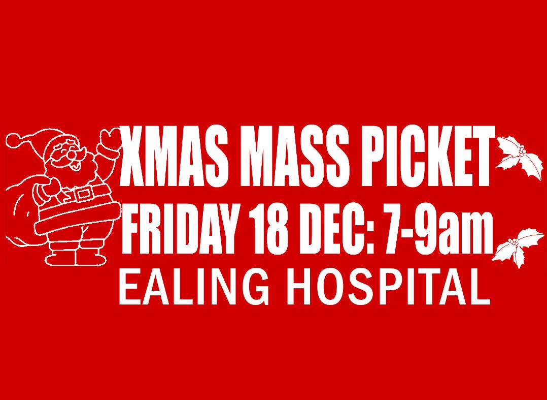 Christmas Mass Picket December 2020